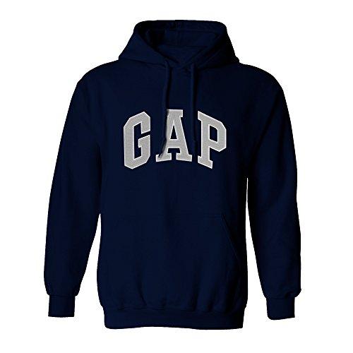 (GAP Pullover Men's Fleece Hoodie Logo (XX-Large, Sailor Navy))