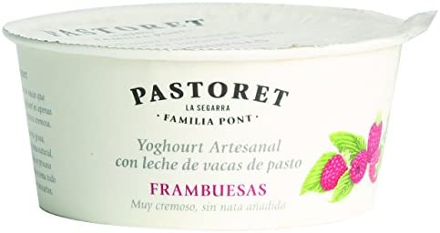 Pastoret - Yogur Artesanal Frambuesas, 1 Unidad x 125 g