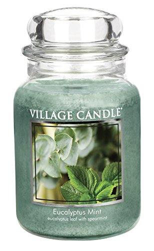 Village Candle Eucalyptus Glass Scented product image