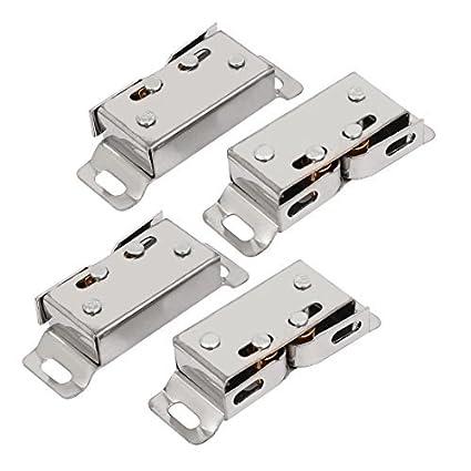 Amazon.com : 50x19x10mm eDealMax Gabinete Armario puertas de ...