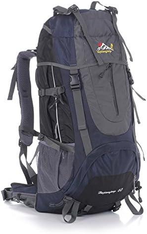 Alpinismo al aire libre 60L Mochila turista paquete de ...