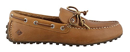 's Hamilton II 1-Eye Driving Style Loafer, Tan, 10.5 Wide US (Hamilton Leather)