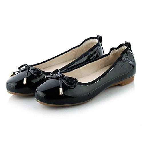 Moda superficial planos zapatos de la señora/zapato de pala/arco zapatos casual rollo de huevo A