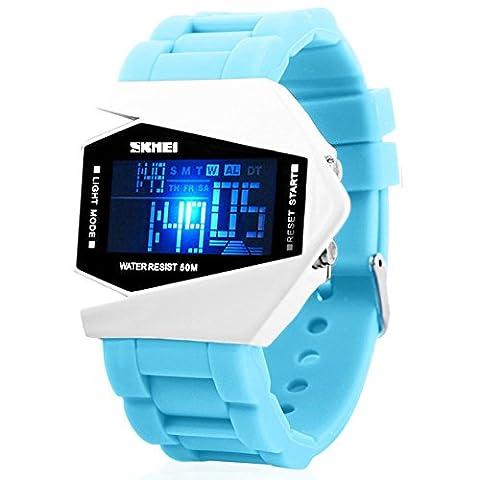Men's Fashion Multifunction Digital LED Sports Wrist Watch 50M Water Resistant Waterproof Unisex (G Shock G 56)