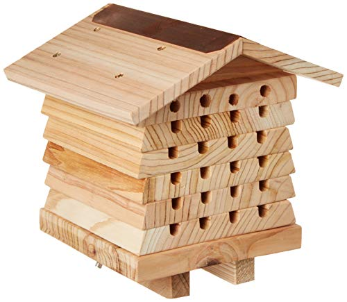 Timber House - Wildlife World Interactive Mason Bee Management System House