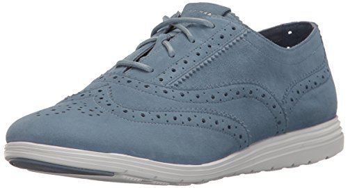 Cole Haan Women's Grand Tour Oxford - Cornwall Blue/Optic...
