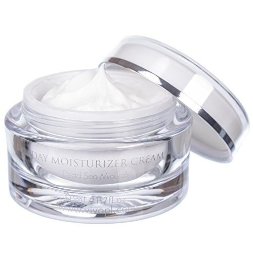 Miracle Moisturizing Moisturizer - Vivo Per Lei Day Cream | Dead Sea Face Cream for Dull, Dry Skin| Moisturizing Day Cream with Shea Butter | Non Greasy Day Moisturizer | Hydrating Face Cream for Women| Beautiful Skin Needs No Miracle