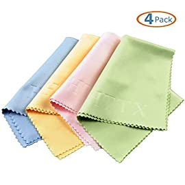 HTTX Microfiber Screen Cleaning Cloths