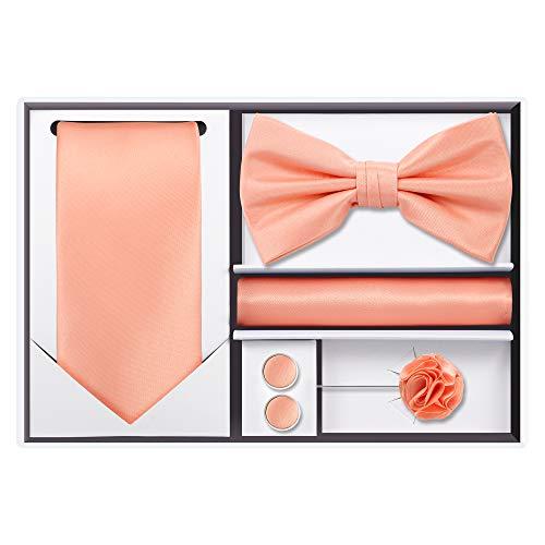 5pcs Tie set (Peach) ()