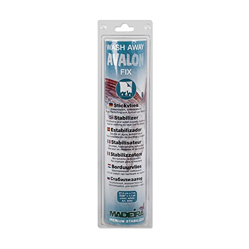 Madeira 20990213 Avalon Fix Wash Away Stabilizer
