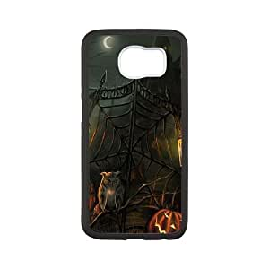 Scary Haunted House Gate Halloween Samsung Galaxy S6 Cell Phone Case White&Phone Accessory STC_193277