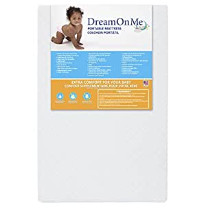 Dream On Me 3 Inch Extra Firm Portable Crib Mattress
