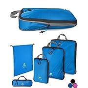 Outdoor Panda Ultraleichte Packtaschen mit Kompression – Wasserabweisende Packwürfel für Rucksack und Koffer…