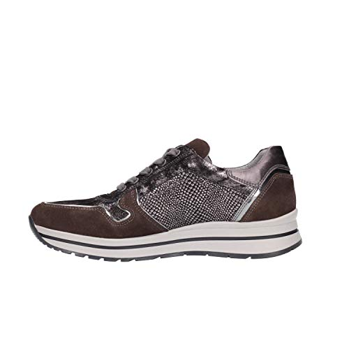 Carbone A806411d 6411 Giardini Donna Scarpe Sneakers Nero wqEUaAx7PE
