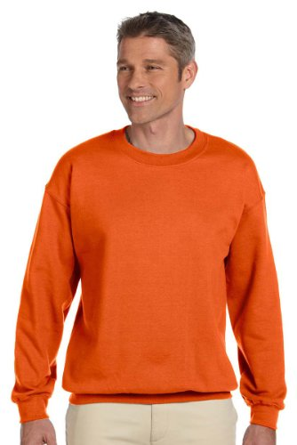 lend Crewneck Waistband Sweatshirt, Orange, XX-Large ()