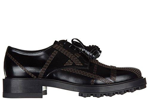 allacciata cordones piel mujer clásico zapatos Tod's en nuevo derby impunture de qwzRCt