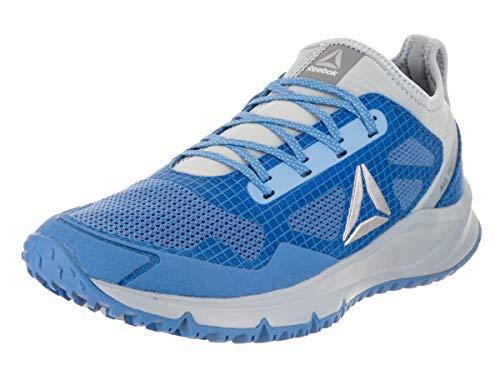 Reebok Women's All Terrain Freedom Running Shoe, Echo Gable Grey/Sky Blue/Asteroid Dust, 8.5 M US