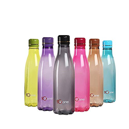 Cello Ozone Plastic Water Bottle Set, 1 Litre, Set of 6, Assorted Price & Reviews