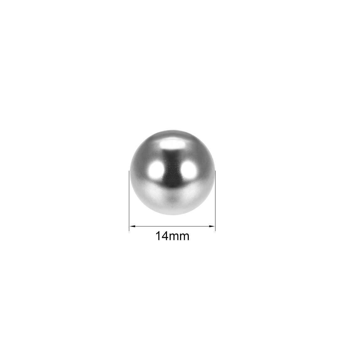 100pcs varios mm Bolas de rodamiento de acero cromado de precisi/ón 1mm Sourcingmap G25
