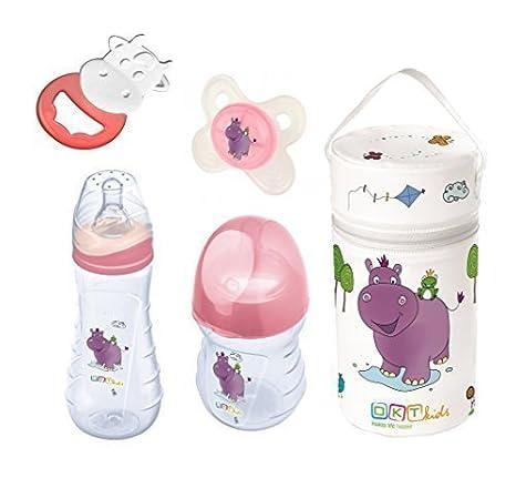 Botella de bebé 250 ml + botella 250 ml + Chupete + Anillo ...