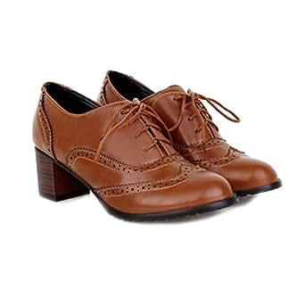 Con De Jane Para Regbking Tacón Zapatos Mary Bota Tobillo Mujer qtxFAF5Y