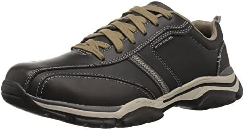 Skechers USA Men's Men's Relaxed Fit-Rovato-Larion Oxford,12 M US