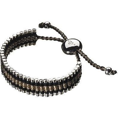 LINKS OF LONDON Sterling Silver Pink Cord Worry Knot Friendship Bracelet 5010.0882 XHpL7Mnu1