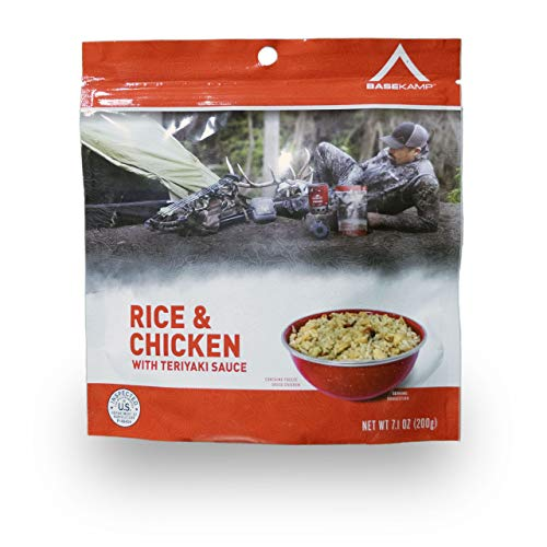 BaseKamp Freeze Dried Meal-Teriyaki Chicken & Rice