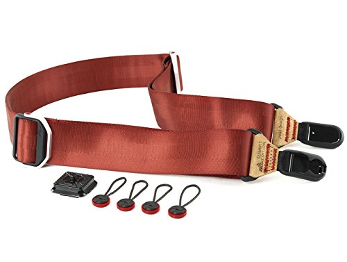 Peak Design Slide Summit Edition Lassen Padded Camera Strap, Red
