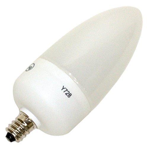 Sylvania Decor 15 Indoor/Outdoor 4 Watt Compact Flourescent Flame Shaped Bulb]()