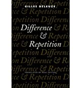 Difference and Repetition[ DIFFERENCE AND REPETITION ] By Deleuze, Gilles ( Author )May-11-1995 Paperback