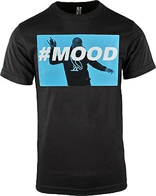 Black Drake #MOOD Mens T Shirt