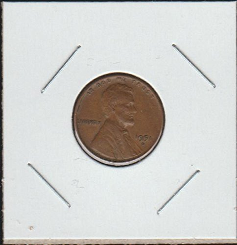 1951 D Lincoln Wheat (1909-1958) Penny Choice About Uncirculated Details