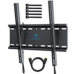 """PERLESMITH mount -- make your world betterthe tilting wall mount is suitable for 23"""" - 55"""" Flat-panel TVs. Its tilting system makes it easier to adjust the viewing angle. The design ensures TV mounting stability and security. Adjustable TV br..."""