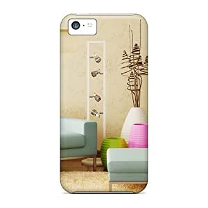 Ideal Phonedecor Case Cover For Iphone 5c(simple Decor), Protective Stylish Case