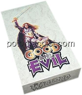 (Warlord CCG Good and Evil booster box )