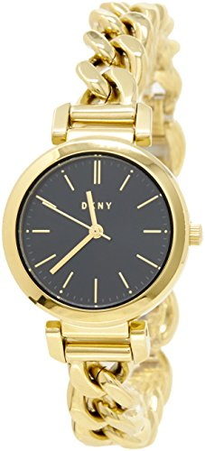 (DKNY Women's 'Ellington' Quartz Stainless Steel Casual Watch, Color:Gold-Toned (Model: NY2665))