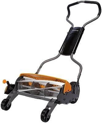 Fiskars 62016935J cortadora de césped - Cortacésped Negro, Naranja ...