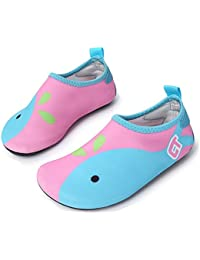 Boys Girls Water Shoes Swim Shoes Quick Drying Barefoot Aqua Socks for Kids Beach Pool
