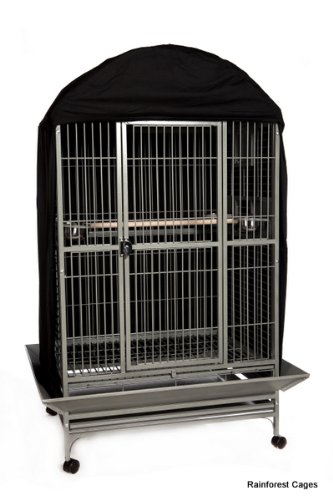 Cage Cover in Black Size: 102 cm H x 56 cm W x 51 cm D Sky Pet Products