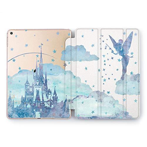 Wonder Wild Tinker Bell Castle Apple iPad Pro Case 9.7 11 inch Mini 1 2 3 4 Air 2 10.5 12.9 2018 2017 Design 5th 6th Gen Clear Smart Hard Cover Cartoon Characters Fairy Tale Princes Walter Disney]()