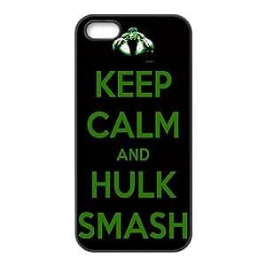 iPhone 5,5S Cell Phone Case Black Hulk NF6041335