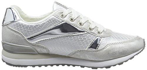 S.oliver 23655 Sneakers Da Donna Bianche (bianco / Argento 193)