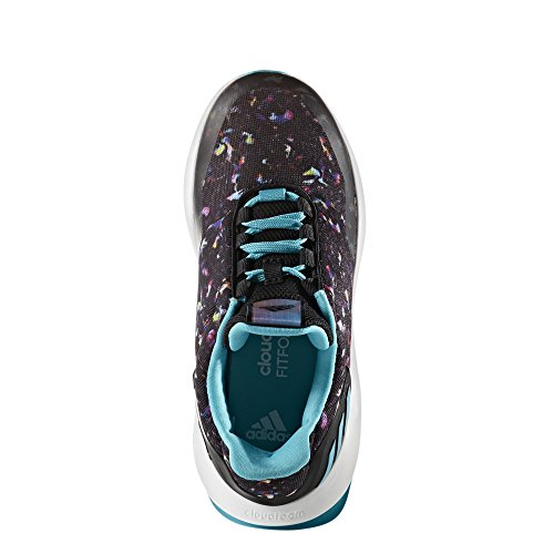 adidas Rapidarun Uncaged K, Zapatillas de Deporte Unisex Niños, Varios Colores (Negbas/Azuene/Ftwbla), 38 EU