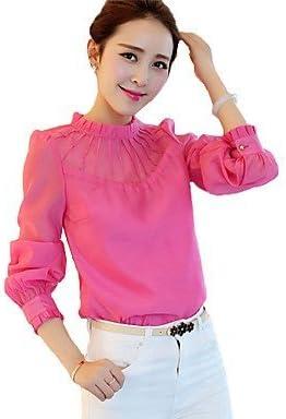 Mujer Camisas y blusas de mujer color azul, rosa y blanco ...