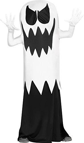Make A Ghost Costume Child (Fun World Big Boy's Floating Ghost Costume Childrens Costume, White,)