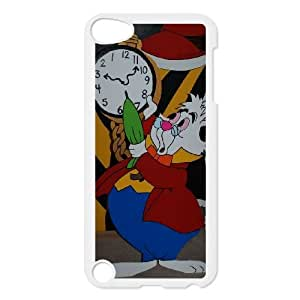 iPod Touch 5 Phone Case White Alice in Wonderland White Rabbit AU7275221