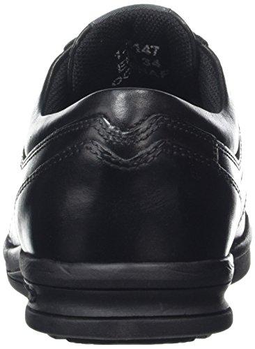Kickers Jungen Troiko Lace-Junior Stiefel, Schwarz (Schwarz), 34.5 EU (2 UK)