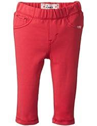 (3.6折)$10.03,Levi's Infant Addison French Terry Raspberry Red李维斯长裤