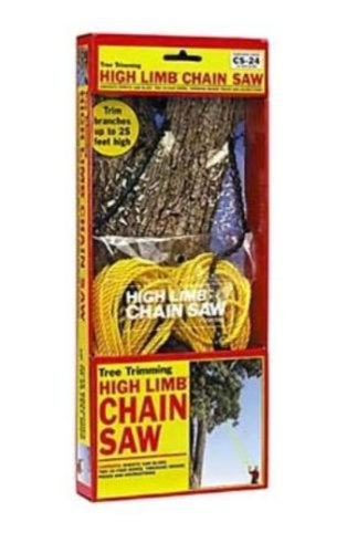 High Limb CS-24 Rope-and-Chain Saw with 24-inch Chain, Outdoor Stuffs